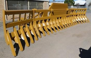 Bespoke scrub rake at Contatore Engineering