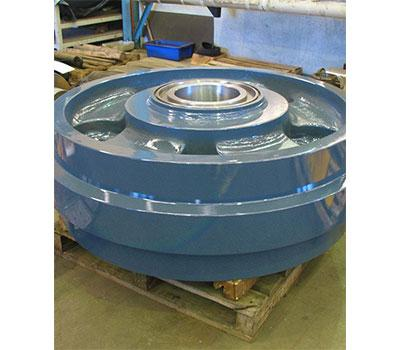 Idler wheels at Contatore Engineering Perth