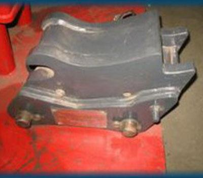 Heavy Duty Hydraulic Quick Hitch to suit John Deere BL721